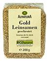 Alnatura Gold Leinsamen geschrotet