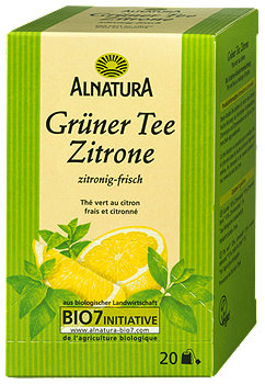 Alnatura Grüner Tee Zitrone