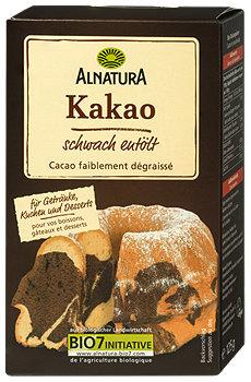 Alnatura Kakao schwach entölt