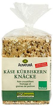 Alnatura Knäckebrot Käse Kürbiskern