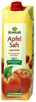 Alnatura Apfel Saft naturtrüb