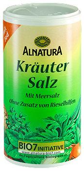 Alnatura Kräuter Salz mit Jod Streudose
