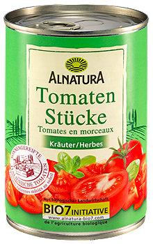 Alnatura Tomaten Stücke Kräuter