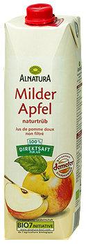 Alnatura Saft Milder Apfel naturtrüb