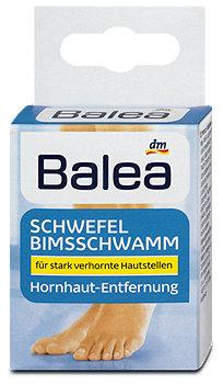 Balea Schwefel Bimsschwamm