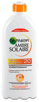 Ambre Solaire feuchtigkeitsspendende Sonnenmilch LSF 20