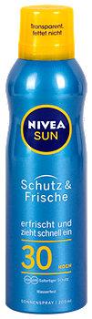 Nivea Sun Schutz & Frische Sonnenspray LSF 30
