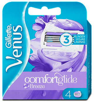 Gillette Venus comfortglide Breeze Rasierklingen