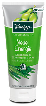 Kneipp Naturkosmetik Duschbalsam Zitronengras & Olive
