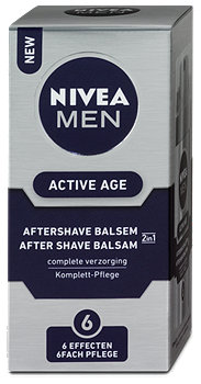 Nivea Men Active Age Aftershave Balsam 6fach Pflege