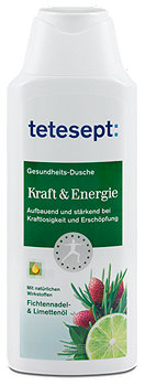 tetesept Gesundheitsdusche Kraft & Energie