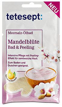 tetesept Meersalz-Ölbad & Peeling Mandelblüte