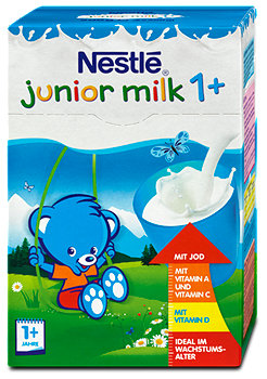 Nestlé junior milk 1+