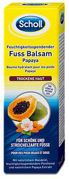 Scholl Feuchtigkeitsspendender Fuss Balsam Papaya