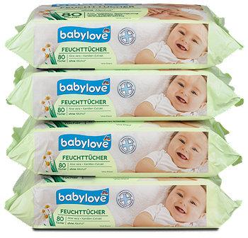 babylove Feuchttücher