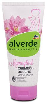 alverde Mamaglück Cremeöl-Dusche Wilde Malve