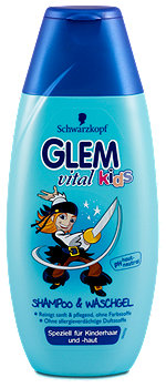 Glem vital kids Shampoo & Waschgel