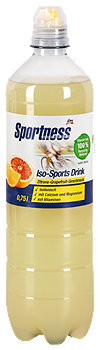 Sportness Iso Drink Zitrone-Grapefruit