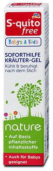 S-quitofree Babys & Kids nature Soforthilfe Kräuter-Gel