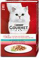 Gourmet mon Petit Katzenfutter mit Thunfisch, Lachs & Forelle