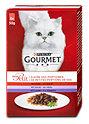 Gourmet mon Petit Katzenfutter mit Rind Kalb & Lamm