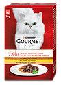Gourmet mon Petit Katzenfutter mit Ente, Huhn & Truthahn