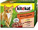 kitekat Bunte Vierfalt in Sauce Beutel Katzenfutter