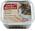 Dein Bestes klassisch Katzenfutter mit Pute Schälchen