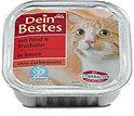 Dein Bestes Katzenfutter Rind & Truthahn in Sauce Schälchen