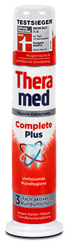 Theramed Complete Plus Fluorid-Zahncreme Spender
