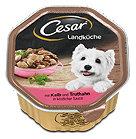 Cesar Landküche mit Kalb und Truthahn Hundefutter