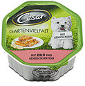 Cesar Gartenvielfalt Hundefutter Kalb und Gemüse