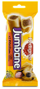 Pedigree Jumbone Medium Hundezahnpflege Rind