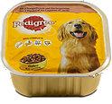 Pedigree Hundefutter 3 Sorten Fleisch & Gemüse Schälchen