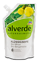 alverde Flüssigseife Bio-Minze Bio-Bergamotte