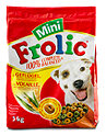 Frolic Mini Hundetrockenfutter Geflügel, Getreide und Gemüse