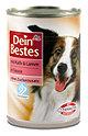 Dein Bestes Hundefutter mit Kalb & Lamm in Sauce Dose
