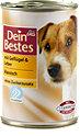 Dein Bestes Hundefutter mit Geflügel & Leber Dose