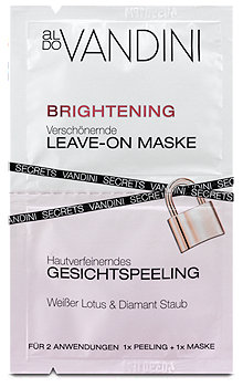 aldo Vandini Brightening Leave-On Maske und Gesichtspeeling
