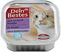 Dein Bestes Katzenfutter Lachs & Forelle in Sauce Schälchen