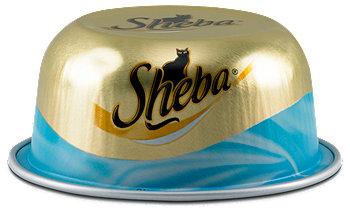 Sheba  Katzenfutter mit Thunfischfilets Schälchen
