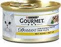 Gourmet Diamant Erlesene Streifen Katzenfutter mit Huhn