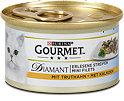 Gourmet Diamant Erlesene Streifen Katzenfutter mit Truthahn
