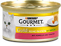Gourmet Gold Katzenfutter mit Forelle und Tomaten