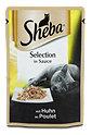 Sheba Katzenfutter Selection in Sauce mit Huhn Beutel