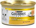 Gourmet Gold Feine Pastete Katzenfutter mit Truthahn