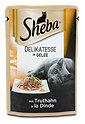 Sheba Katzenfutter Delikatesse in Gelee mit Truthahn