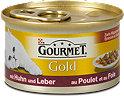 Gourmet Gold Katzenfutter mit Huhn und Leber in Sauce