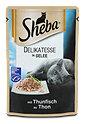 Sheba Katzenfutter Delikatesse in Gelee mit Thunfisch