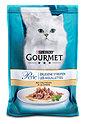 Gourmet Perle Erlesene Streifen Katzenfutter mit Truthahn